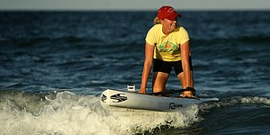 Beyond the course: Stacy Lewis on the paddleboard
