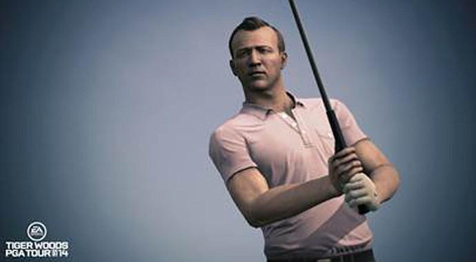 Arnold Palmer is one of the golf legends included in the new Legends of the Majors feature in Tiger Woods PGA Tour 14.