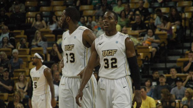 Keith Clanton, left, and Isaiah Sykes have proven instrumental in the Knights' big wins.