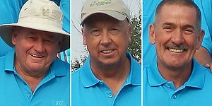 Have sticks, will travel: These guys are crazy about golf
