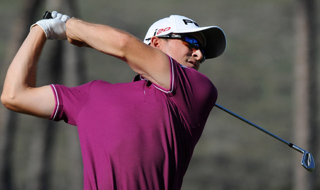Scott Langley finished T-3 in his first PGA Tour tournament as a member.