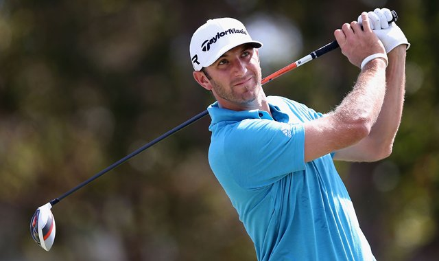 Dustin Johnson withdrew during the second round of the Sony Open.