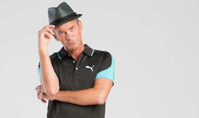 Jesper Parnevik in his new Puma gear.