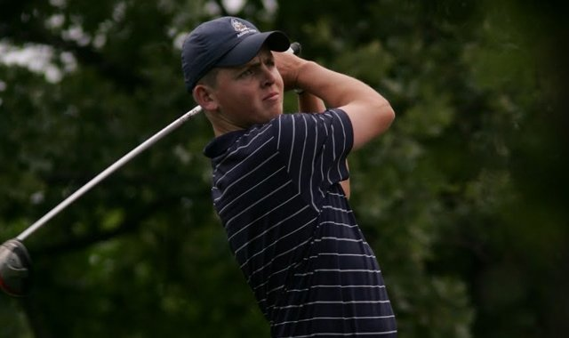 UC Davis&#39; Matt Hansen at the 2011 NCAA Championship.