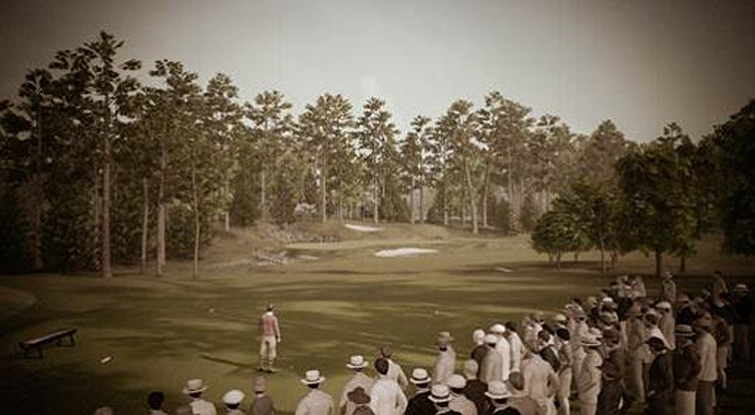 Tiger Woods PGA Tour 14: The Masters Historic Edition will feature the original Augusta National layout.