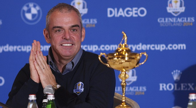 Paul McGinley is Europe's captain for the 2014 Ryder Cup.