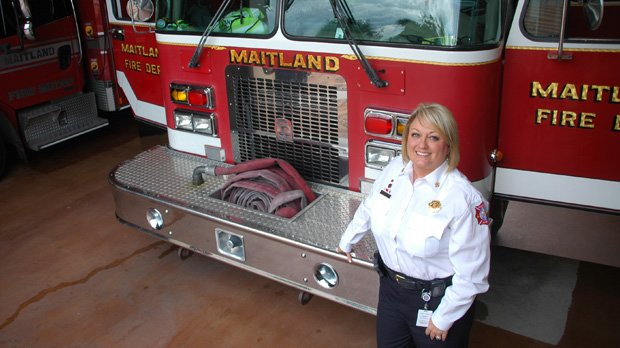 New Fire Chief Kim Neisler