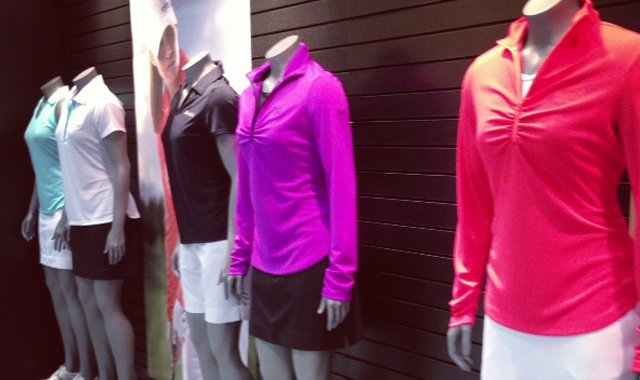 The Under Armour women's line for the spring.