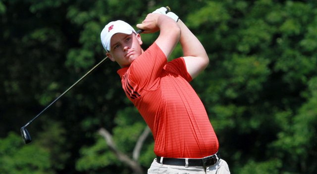 Austin Peay's Anthony Bradley won the individual title at the 2012 Ohio Valley Conference Championship.