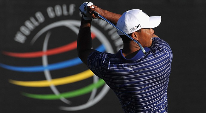 Tiger Woods will face Charles Howell III in the first round of the 2013 WGC-Accenture Match Play Championship.