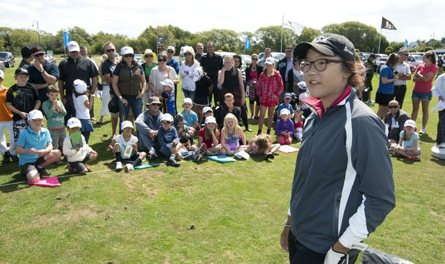 Lydia Ko taught a few juniors  and the field  a thing or two during the ISPS Handa New Zealand Women&#39;s Open.