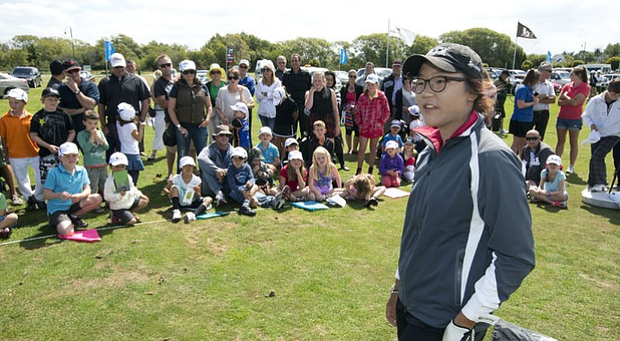 Lydia Ko taught a few juniors – and the field – a thing or two during the ISPS Handa New Zealand Women's Open.