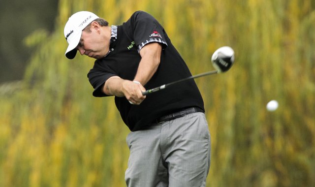 Bo Van Pelt defeated John Senden, 6 and 5, in the first round of the WGC-Accenture Match Play Challenge.