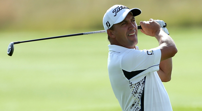Fichardt leads by a shot in South African golf