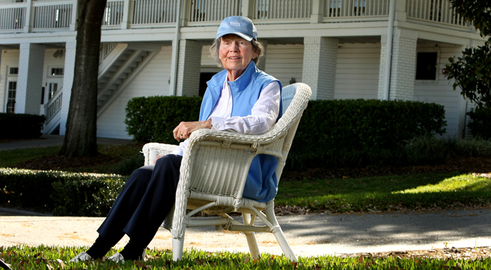 For Peggy Kirk Bell, golf - like life - has been a joyride
