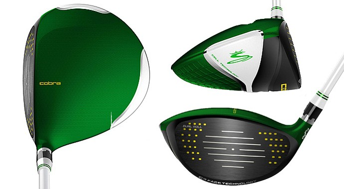 Cobra will make 1,800 AMP Cell Limited Edition drivers for the Masters.