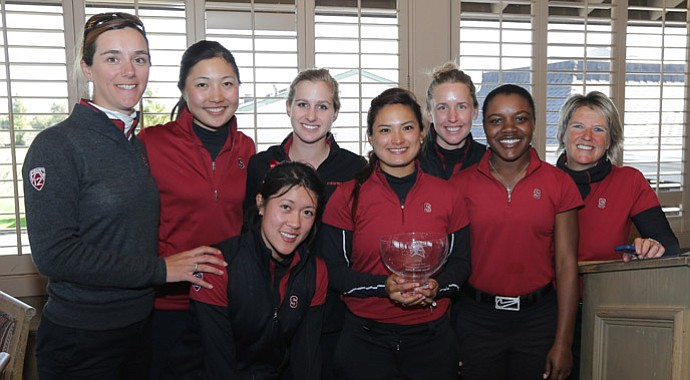 Stanford's women's golf team
