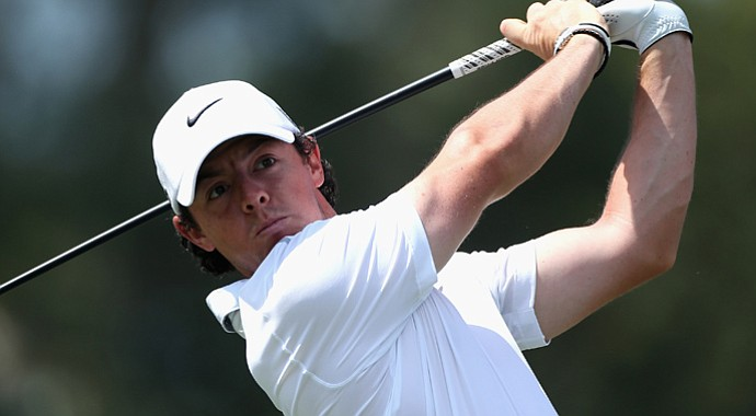 Rory McIlroy during the third round of the WGC-Cadillac Championship.