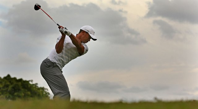 Tiger Woods during the third round of the WGC-Cadillac Championship.