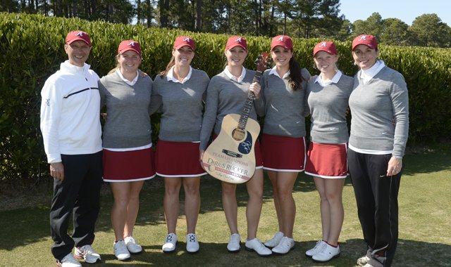 Alabama won the team title at the Darius Rucker Intercollegiate.