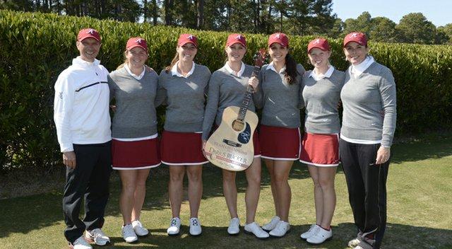 Alabama won the team title at the Darius Rucker Intercollegiate.