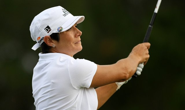 Laura Diaz during the final stage of 2012 LPGA Q-School.