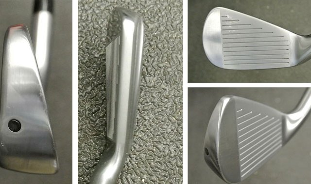 Titleist's hollow-headed 712U has a flat face and compact shape that is designed to help golfers hit straighter shots.