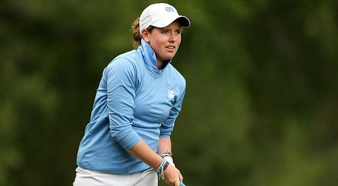North Carolina junior Casey Grice will play in the North Texas LPGA Shootout next month. It will be her first start in a professional tournament.