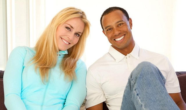 """Something nice that's happened off the course was meeting Lindsey Vonn,"" Tiger Woods said on his Facebook fan page. He and Vonn are now dating."