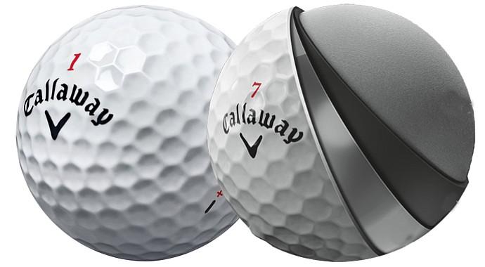 Callaway's Hex Chrome+ Golf Ball