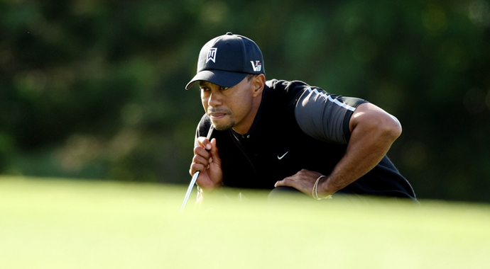 How it happened: Woods fires 69, Rose leads