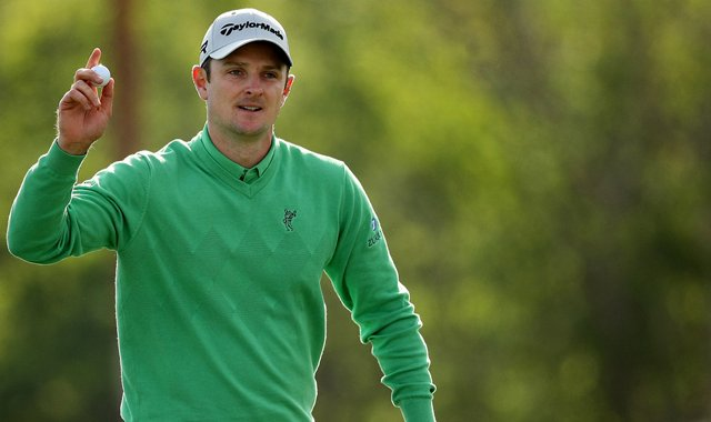 Justin Rose made an eagle at No. 16 in  Round 1 of the Arnold Palmer Invitational.