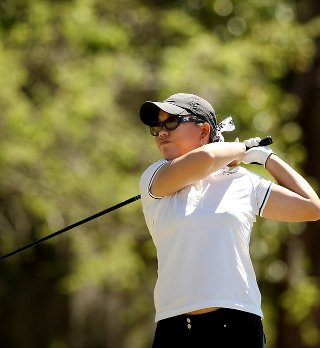 Chirapat Jao-Javanil of Oklahoma during the Sun Trust Gator Women&#39;s Invite at Mark Bostick Golf Course.