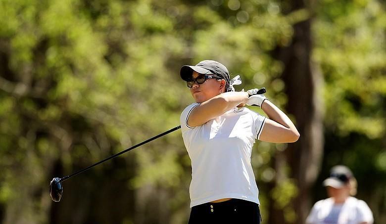 Chirapat Jao-Javanil of Oklahoma during the Sun Trust Gator Women's Invite at Mark Bostick Golf Course.