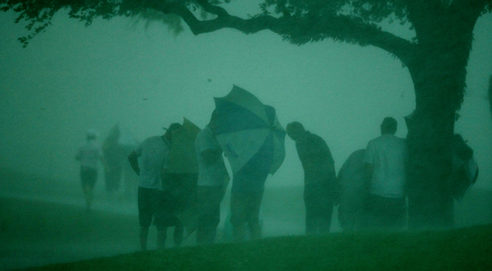PHOTOS: Weather wreaks havoc at Arnold Palmer Invitational