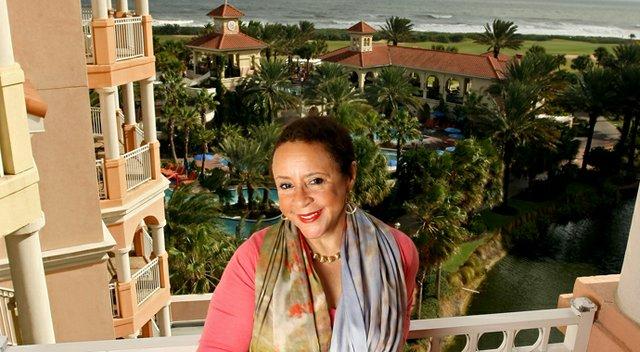 Sheila Johnson at Hammock Beach Resort
