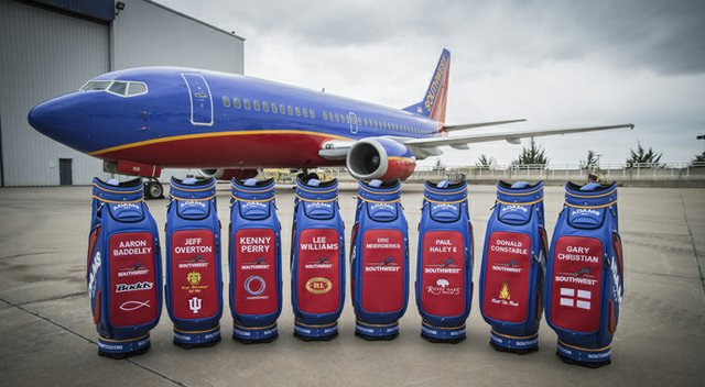 Southwest will use Adams and the sport of golf as vehicles to court more business travelers. Meanwhile, Adams gains exposure riding the marketing resources of one of the nation's major domestic carriers.