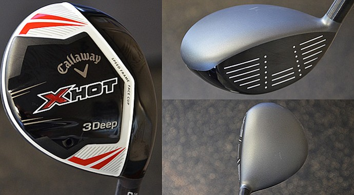 Callaway's new X Hot 3Deep fairway wood
