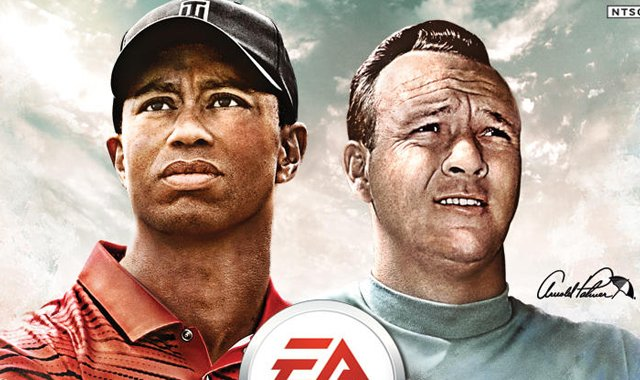 The cover of the EA Sports Tiger Woods PGA TOUR &#39;14 game.