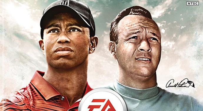 The cover of the EA Sports Tiger Woods PGA TOUR '14 game.