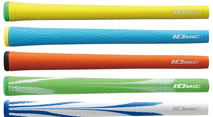 Iomic sells four distinct lines of grips with the name Sticky. Those four are Sticky 1.8, Sticky 2.3, Sticky Mid and Sticky Jumbo.