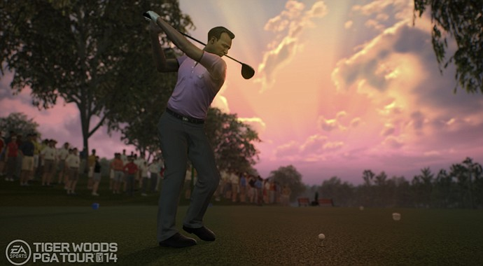 Arnold Palmer graces the cover and the Legends mode of the new EA Sports Tiger Woods PGA Tour 2014 game.