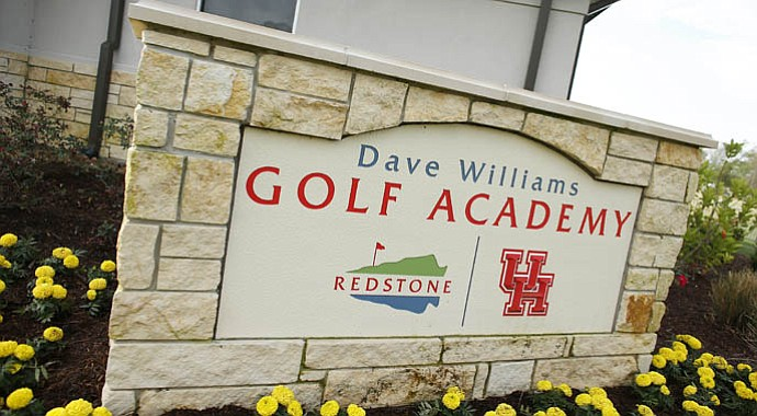 The Dave Williams Golf Academy houses both Charlie Epps, the director of golf at TPC Redstone, and the University of Houston golf team.