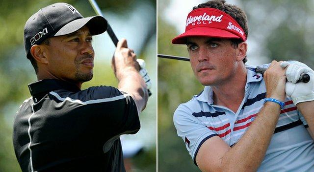Tiger Woods and Keegan Bradley register as favorites at the 2013 Masters.