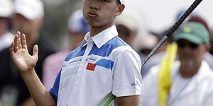 Amateur Guan early surprise in Masters first round
