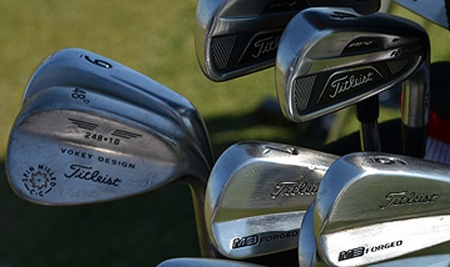 A look inside Marc Leishman&#39;s bag that led him to a 6-under 66 on Thursday.