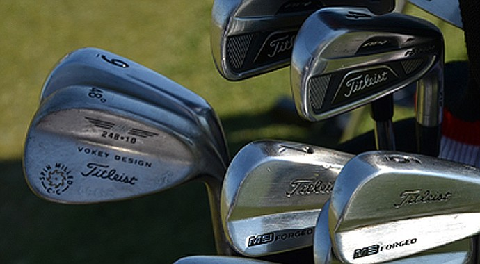 A look inside Marc Leishman's bag that led him to a 6-under 66 on Thursday.