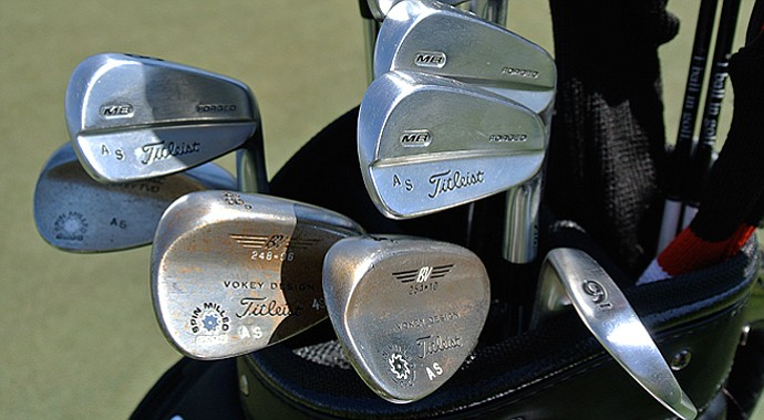 Adam Scott's bag that he is using at the 2013 Masters.