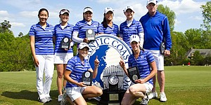 Duke defends ACC title with 24-shot victory