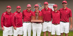 SEC proves to be best conference in men's golf